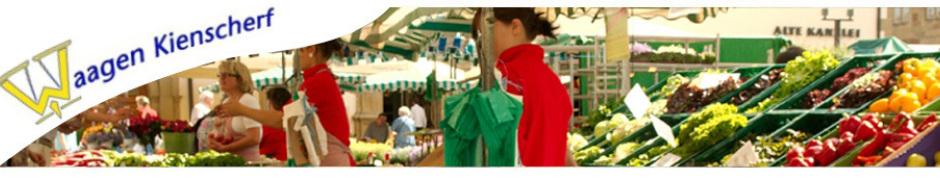 Marktwaage Master MACH 120 - Akkuwaage für Wochenmarkt - Ladenwaage für Hofladen