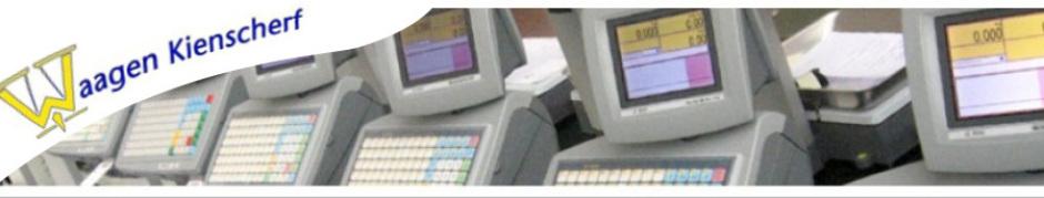 Ladenwaage CE 9000 EVO-Windows CE Betriebssystem